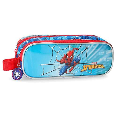 Marvel Spiderman Street Beauty Case da viaggio 23 centimeters 1.45 Multicolore (Multicolor)