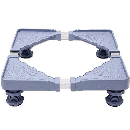 XHCPortable Base Regolabile per Frigorifero Lavatrice,Stent Durevole Carico Pesante 300 kg Prevenire...