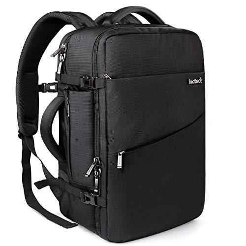 Inateck 40L Zaino bagaglio a mano/da cabina. Compatibile con laptop 15-17'', Zaino valigia omologato...
