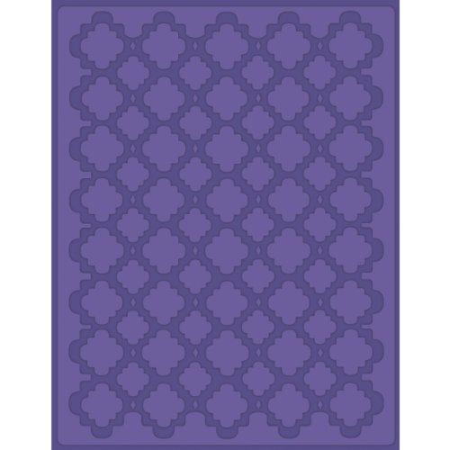 Craftwell USA Quatrafoil Prägung Full Seite Design Ordner, 8,5von 27,9cm