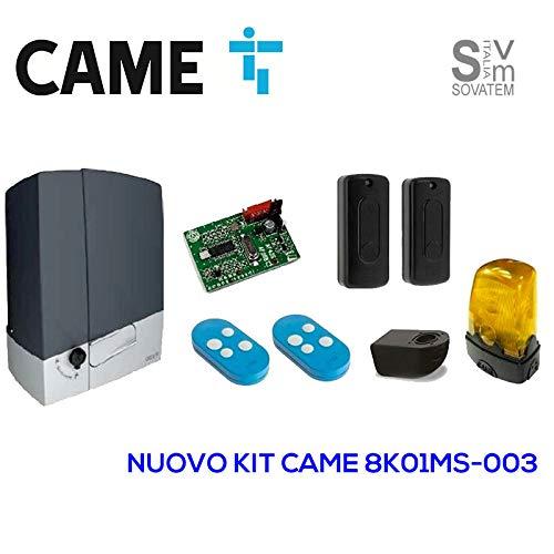 KIT AUTOMAZIONE CANCELLO 230V GRIGI BXV400K04 (CAME cod. 8K01MS-003)