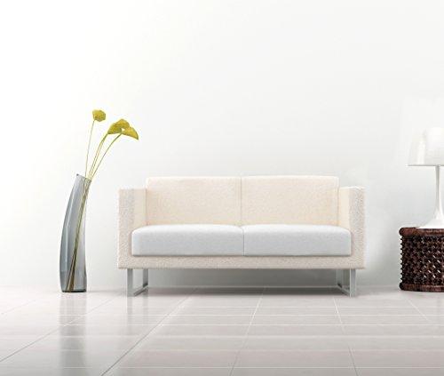 Italian Bed Linen Più Bello Copriseduta per Divano Tessuto Bielastico a Struttura Liscia, 96%...