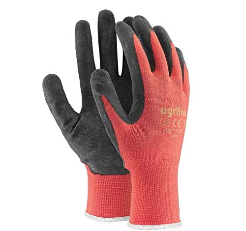 24paia di guanti da lavoro, rivestiti in lattice durevole, con salda presa di sicurezza, adatti...