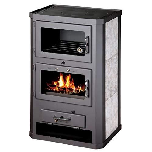 Poêle à bois four Cheminée Journal de combustible solide cuisinière Brûleur 12/17kW Bimschv 2