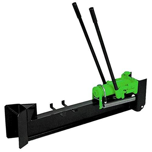 Charles Bentley 10 Ton hidráulico verde Log Splitter manos de accionamiento Heavy Duty cortador de madera horizontal de uso