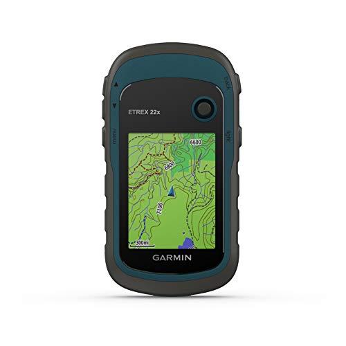 Garmin ETREX 22x - Navigatore portatile a colori da 2,2' e mappa TopoActive preinstallata