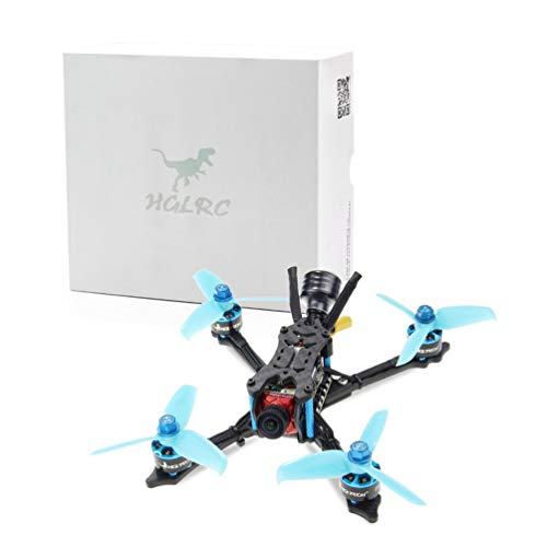CHOULI HGLRC Arrow 3 FPV Racing Drone 4S BNF quadricotteri con Ricevitore Frsky XM + Blu-Nero