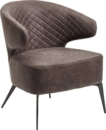 Kare Amsterdam Lounge Poltrona, Grigio, 72 x 62 x 64 cm