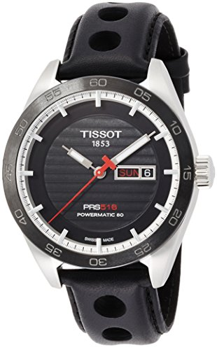 Tissot Herren-Uhren Analog Automatik One Size Leder 86963221