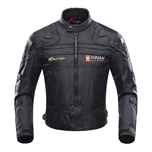 Giacca Motocicletta, giubbotto moto uomo estiva 5 Armatura protettiva per uomo Donna, protezioni...