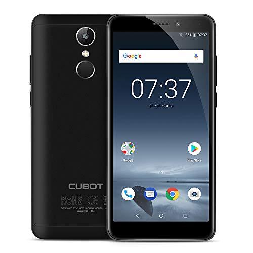 """CUBOT NOVA (2018) 4G Pantalla HD capacitiva de 5.5 """" Android 8.1 RAM de 3 GB 16 GB ROM Dual SIM 4G Teléfono móvil-Negro"""