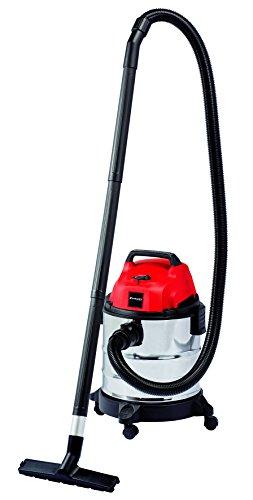 Einhell 2342167 Aspiratore di Solidi e Liquidi, Serbatoio da 20 L, Aspirazione 18000 Pa, 1250 W