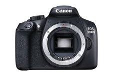 "Canon EOS 1300D - Cámara réflex de 18 Mp (pantalla de 3"", Full HD, NFC, WiFi), color negro"
