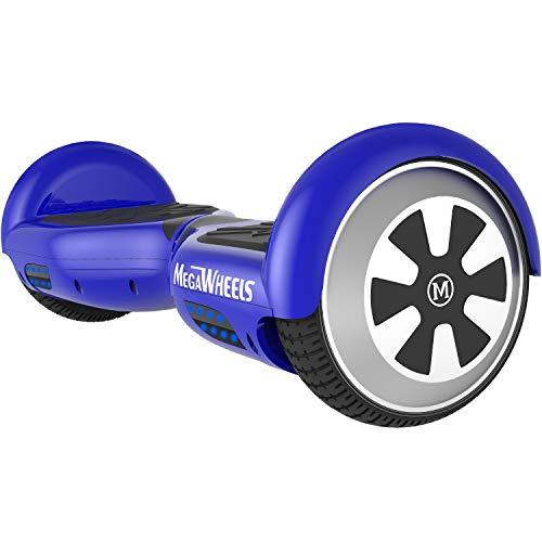 "M MEGAWHEELS 6.5"" Smart Self Balance 500W Motore Scooter con LED e Bluetooth Altoparlante (Blu)"