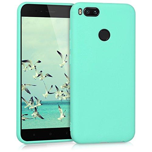 55d1e7ade67 ... kwmobile 42838.50 Funda para teléfono móvil Color Menta – Fundas para  teléfonos móviles (Funda, Xiaomi, Mi 5X / Mi A1, Color Menta). 🔍. Amazon  Prime