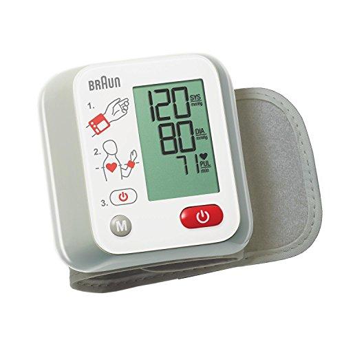 Braun BBP2000 VitalScan 1 Misuratore Automatico della Pressione Arteriosa da Polso con Guida di...