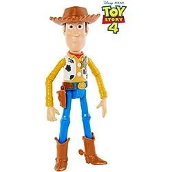 Mattel- Disney Toy Story 4-Figura básica Woody, Juguetes niños +3 años GGX34, Multicolor