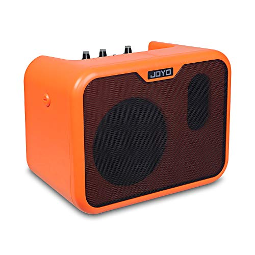 ZJH 10W Guitar Practice Amplifier, Acoustic Guitar Loud Speaker Amplifier With Two Tone Channels for Guitar Play