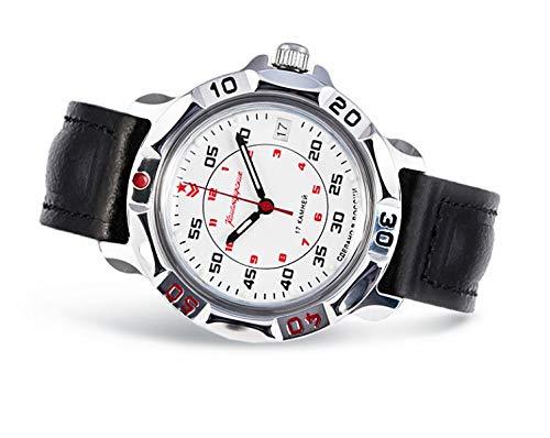 Vostok Komandirskie 2414 431171, orologio meccanico, stile: russo militare
