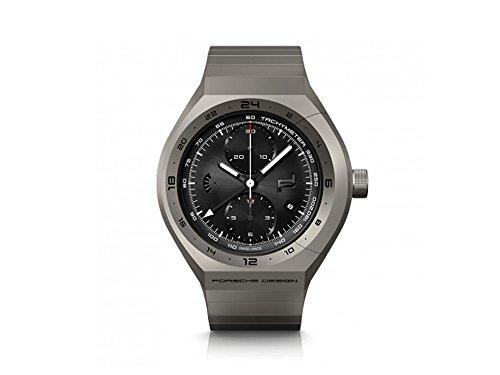 Porsche Design Monobloc Actuator Automatik Uhr, Titan, GMT, 6030.6.02.001.02.5