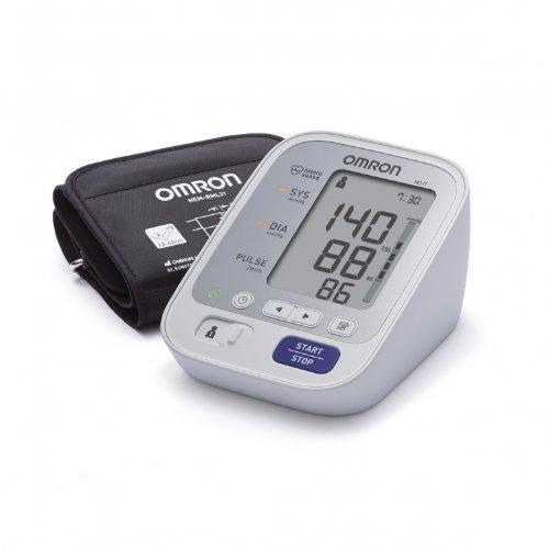 Omron M3 Misuratore di Pressione da Braccio Digitale, Sensore di Irregolarità Battito Cardiaco,...