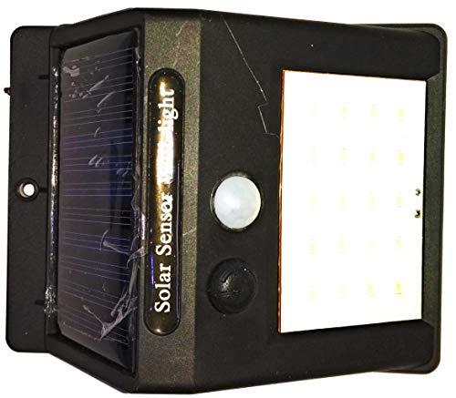 Scross Solar Wireless Security Motion Sensor LED Night Light (Black)