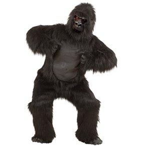 NET TOYS Disfraz Completo de Gorila en Felpa Traje Animal Mono Zoo Selva