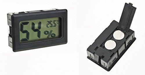 DC thermometre hygrometre-Digital LCD-Cantinetta Vino o Sigaro-umidità