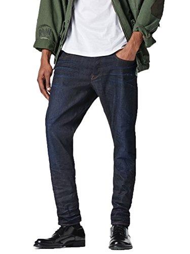 Jeans G STAR 3301 Tapered Visor Stretch Denim Dark Aged - W26/L32,...