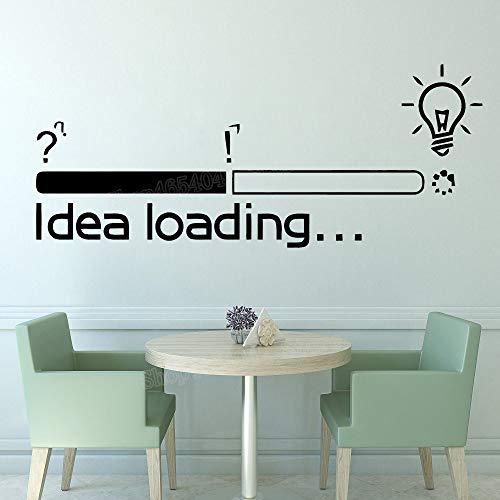 HNXDP Grande idea Caricamento adesivi murali Adesivi per ufficio Ispirazione motivazionale Adesivo...