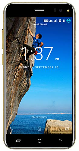 Xifo Kiaome Model A6 4G Volte (Jio sim Supported) 5 Inch Display 4G Smartphone (2GB RAM, 16GB Storage) in Gold Colour