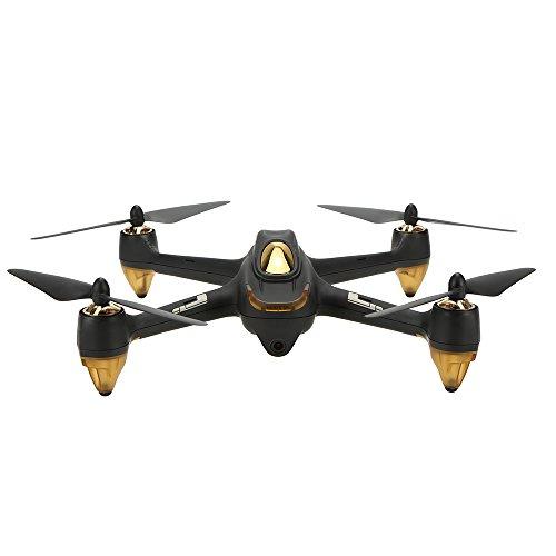 Hubsan H501S X4 Brushless FPV Droni Quadricotteri GPS Fotocamera 1080P HD 5.8Ghz Headless Follow Me GPS Hold Altitude con H901A Telecomando (H501S Nero)