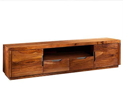 Legno massiccio Sheesham mobili laccato TV-board in palissandro legno massiccio legno di noce...