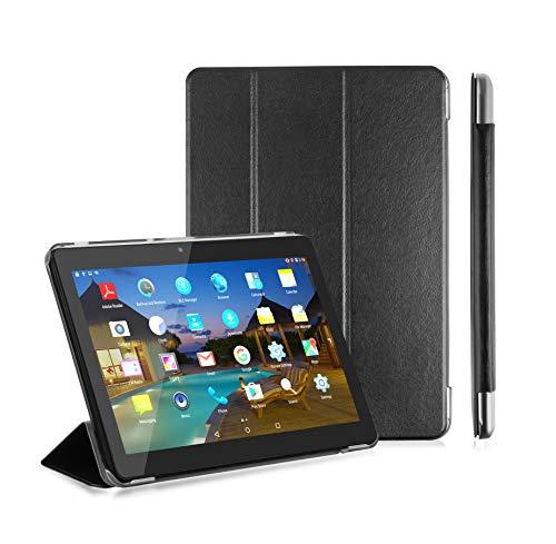 LNMBBS Custodia per Tablet 10 Flip Cover PU in Pelle e fondello in Acrilico, per YOTOPT 10.1 /...