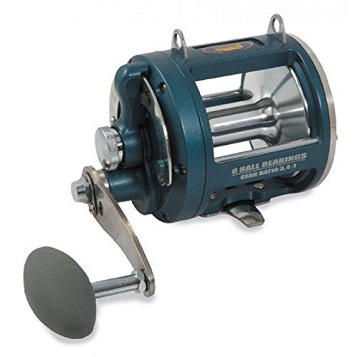 Pesca Mulinello Da traina con frizione a leva 8 cuscinetti a sfera