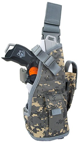 Blasterparts Multi Holster MX (links) - suitable for Nerf Blasters like Strongarm (digital camo...