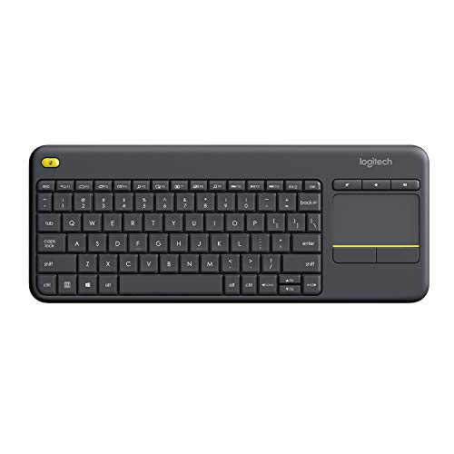 Logitech K400 Plus Wireless Keyboard (Black)