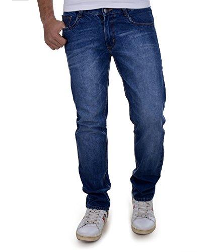 Ben Martin Men's Cotton Jeans (BMW-JJ3-DARK-p4-34_34_Dark Blue)