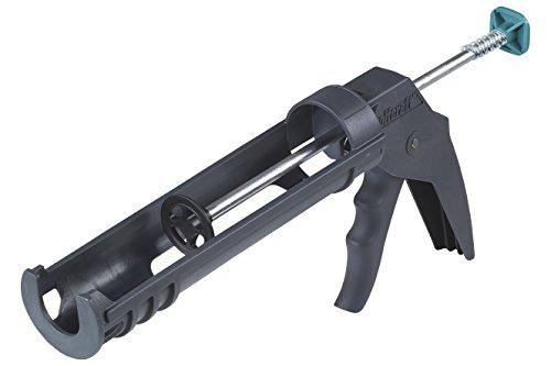 wolfcraft 1 MG 100 mechanische Kartuschenpresse 4351000   Leichte Kartuschenpistole mit automatischer Tropf-Stopp-Funktion   Für 310 ml Kartuschen geeignet