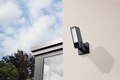 41MR9rkAxyL [Bon Plan Fibaro] Caméra de Surveillance Extérieure Intelligente avec éclairage intégré - Netatmo Presence