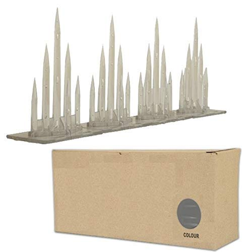 Bird Spike Bird-X India Metal-Plastic-Polycarbonate Bird Spike - Pack of 24 Pieces