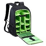 Estarer Kamerarucksack Fotorucksack SLR/DSLR/Spiegelreflex Wasserabweisend 15,6'' Kamera Rucksack mit Laptopfach Regenhülle Stativhalterung