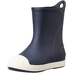 crocs Bump it Boot Kids, Unisex - Kinder Gummistiefel, Blau (Navy/Oyster), 29-30 EU