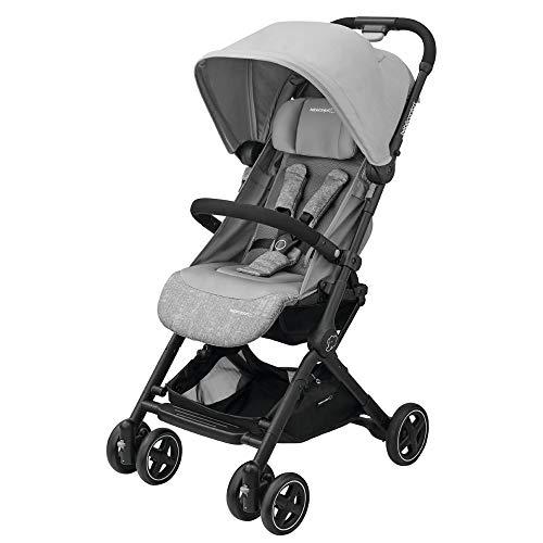 Bébé Confort Lara Passeggino Compatto e Leggero, Reclinabile e Richiudibile in 3 Secondi, Nomad Grey