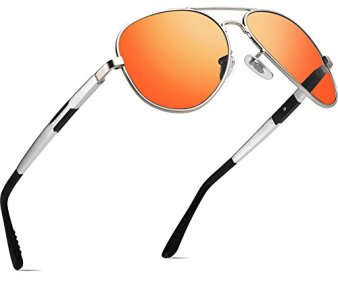 ATTCL-Hombres-Polarizadas-Gafas-De-Sol-Al-Mg-Metal-Ultra-Light-16695-Plata