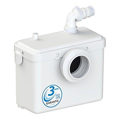 AQUASANI 1 - Broyeur WC pour Sanitaire - MADE IN FRANCE et Garantie 3 ANS