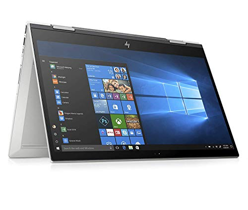 HP ENVY x360 15-cn1001nl Convertible pc, i5-8265U, 8 GB di SDRAM, 256 GB, NVIDIA GeForce MX150, Schermo 15,6' FHD IPS Touchscreen, Argento