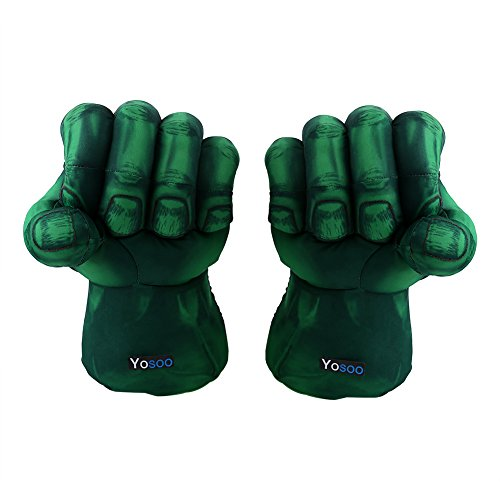 Zerone Hulk Smash Hands, 10' Plush Hulk Gloves, Hulk Smash Hands Soft Toy Doll Gloves Big Green One...