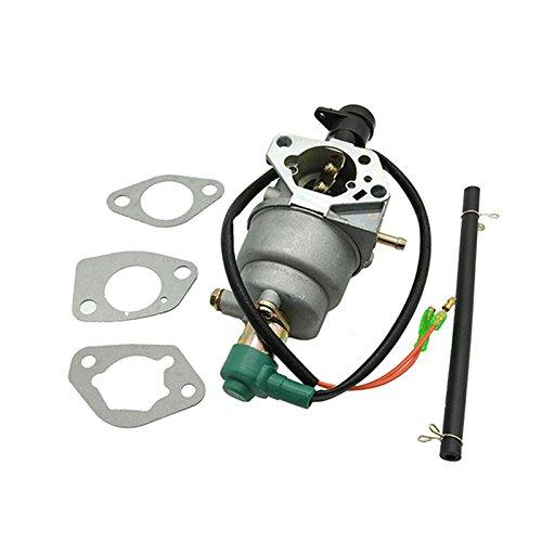 Yiwa Carburador con solenoide para Honda GX390 188F/190 Generator Carb