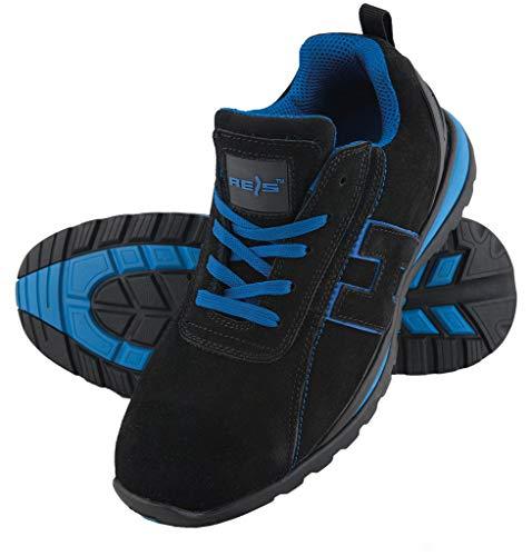 Scarpe da lavoro scarpe antinfortunistiche Chile, taglia 36 – 48 Scarpe punta in acciaio, nero...